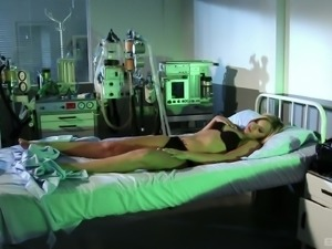 Hot hospital lesbian sex with hotties Brandy Smile and Cristal