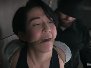 Obedient Mia Torro deserves some bondage workout and masturbation