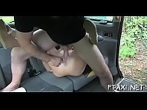 Fake taxi and sex games are inseparable