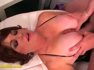 horny cocked dude banged a mature slut