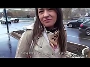 Cutie amateur european slut seduces tourist dor a street blowjob 04