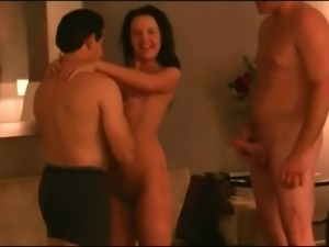 Beautiful Wife Creampie Foursome