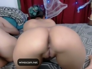 Latina sucks me then gets my cum so much saliva