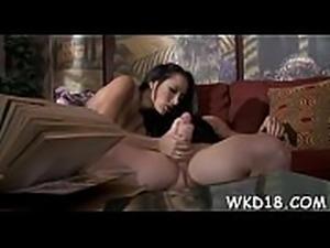 Nice oral sex scene