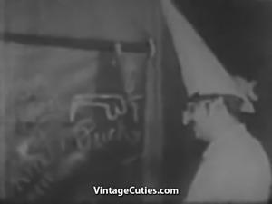 Sex Teacher Teaches a Woman (1940s Vintage)