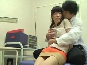 Japanese chick is in need of a hunk's pulsating dick