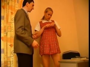 Russian blonde amateur teen homemade sex