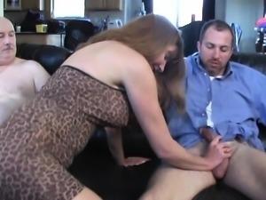 Amateur slut gangbang and blowjob facial group