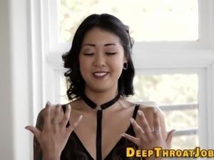 Fetish wam asian throated