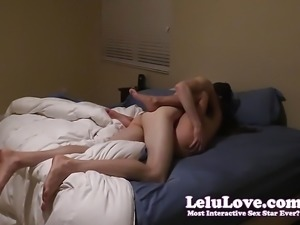 Amateur couple has fun real authentic passionate sex in home