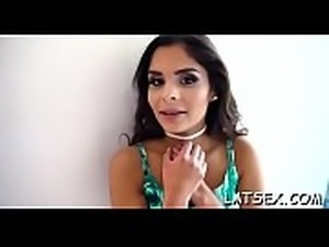 Latin babe video