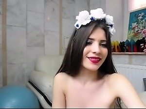 babe dahlly flashing boobs on live webcam