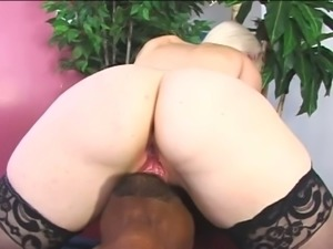 Charlotte Stokely takes that big cock up her pussy like she was born to do it