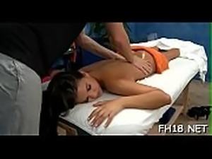 Oil massage movies