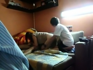 Dude Lets His Best Friend Fuck His GF DoggystyleWhile She