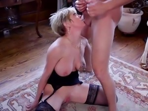Her mission is to make her master happy. He gave her pleasure by fingering...