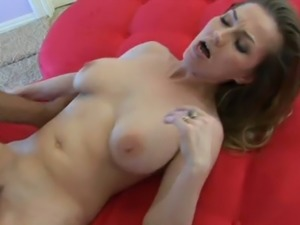Zesty blonde MILF Darien Ross fucking passionately in high quality sex video
