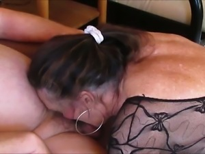 Ugly as shit chunky amateur mature nympho was blowing my friend