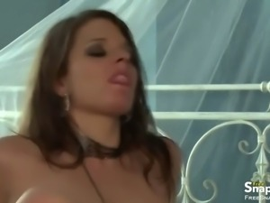 buxom brunette milf taking cock