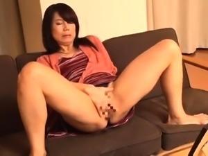 Slutty Japanese wife with tiny tits enjoys two black cocks