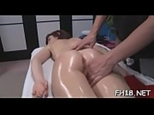 Erection during massage therapy