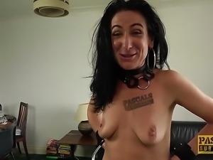 Milf slut Ella Bella got banged hard in the ass by Pascal