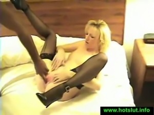 This hungry cheating whore loved every inch of those black dicks fucking her