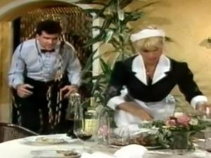 German vintage maid get rough sex