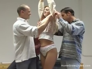 3 Hard Dicks For Horny Fraulein