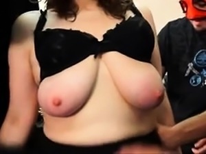 Big breasted mature lady getting pumped full of hard meat