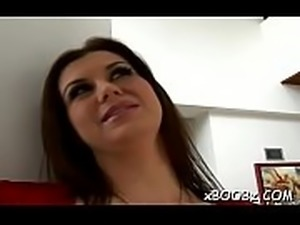 Fascinating busty lady likes lechery