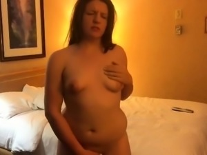 Lustful brunette wife engages in interracial cuckold fucking