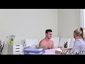 Female agent adores breathtaking sex