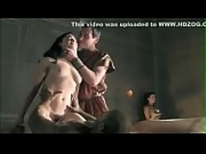 Jessica Grace Smith sex scenes in  Spartacus