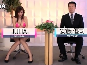 Stacked Japanese beauty loves to work her snatch on a dick