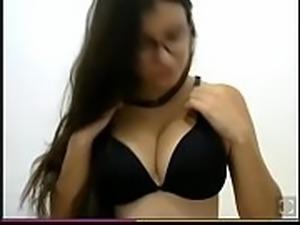 Nerd Gostosa na Webcam