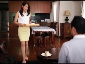Luscious Japanese wife gets the hard pounding she deserves