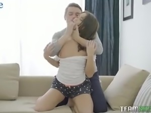 Painful but steamy doggy analfuck with such a beautiful GF Erin