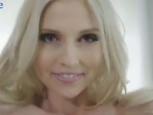 Fabulous blonde MILF Christie Stevens gets analfucked by black dude on cam
