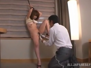 Charming Japanese Doll Goes Hardcore After Playing Dirty Games