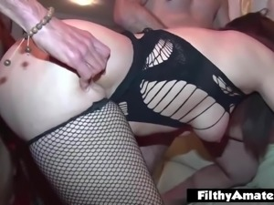 The most whore in the world! Foot fuck and cum in ass!