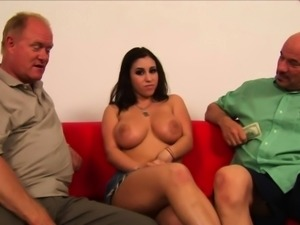 Two guys talked a girl into pleasing them