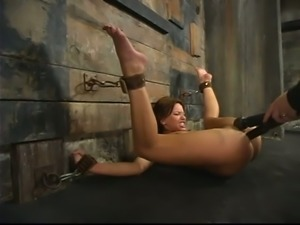 Upside down suspension and a hardcore insertion
