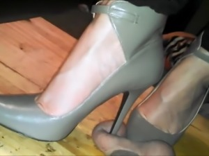 love crushing balls under my heels