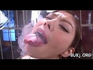 Steamy japan office chick receives several cocks to bang her
