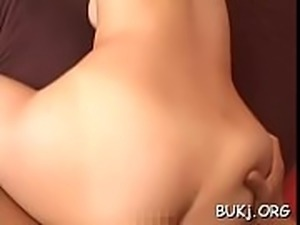 Naked beauty stands and endures cock fucking her very hard