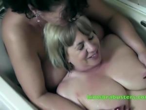 Bath time with Granny Kim