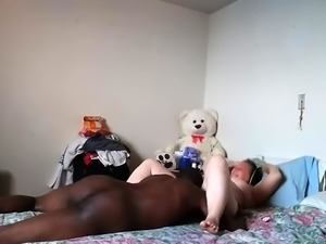 Curvy brunette wife joins a black couple for a hot threesome