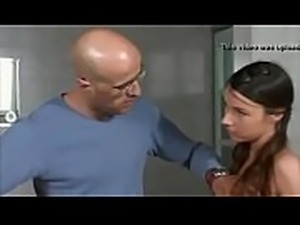 Teen daughters bang father