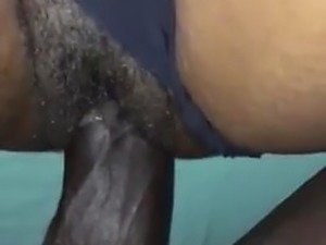 JBlack & Peg : POV missionary with squirt